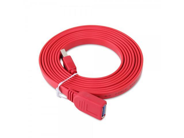 Satechi Super Speed USB 3.0 Extension Cable (6.5 ft) (Red)