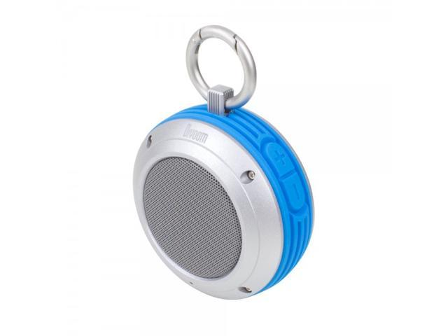 Satechi Voombox Travel Portable Bluetooth 4.0 Speaker with 4W Driver & up to 6 Hours of Playtime Splash Resistant (Blue)
