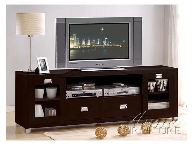 Wood Fiber Board TV Stand by Acme Furniture