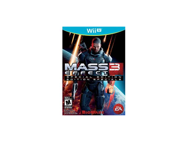 Mass Effect 3 Wii U Game EA