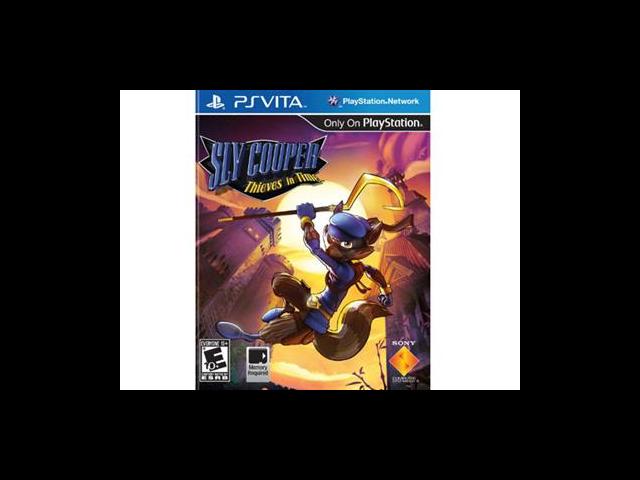 Sly Cooper Thieves PlayStation Vita
