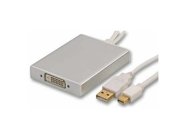 Mini DisplayPort to Dual Link DVI Adapter