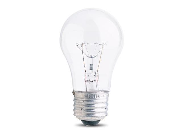 40W A15 Appliance Light Bulbs