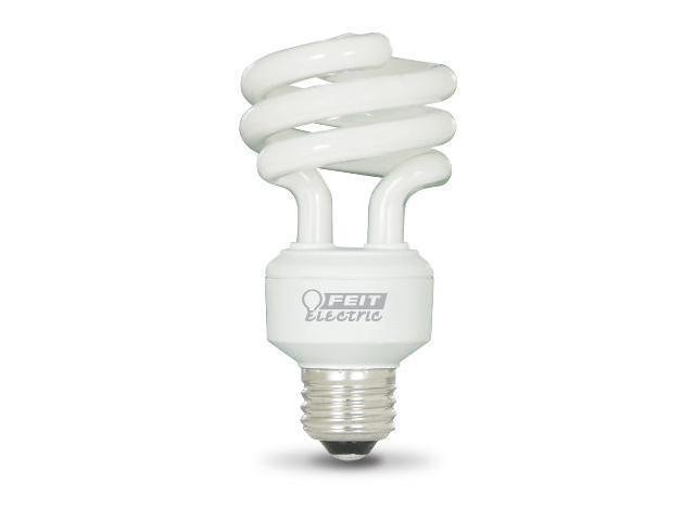 18W Compact Fluorescent Mini Twist Light Bulbs - Bright White