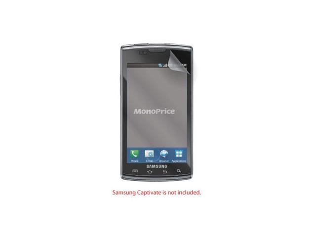 Screen Protective Film w/ Privacy Finish for Samsung Captivate