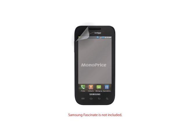Screen Protective Film w/ High Transparency Finish for Samsung Fascinate