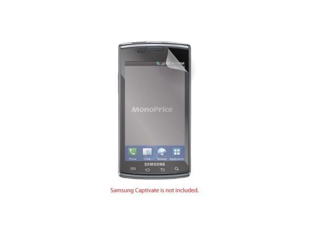 Screen Protective Film w/ Matte Finish for Samsung Captivate
