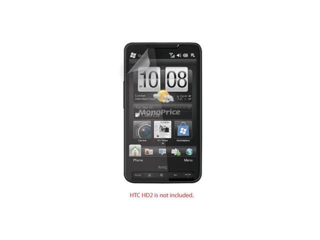 Screen Protective Film w/ High Transparency Finish for HTC HD2