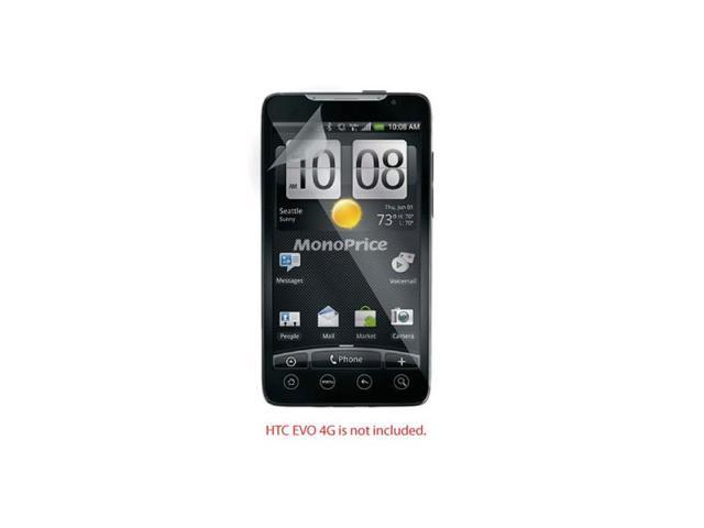 Screen Protective Film w/ Privacy Finish for HTC EVO 4G