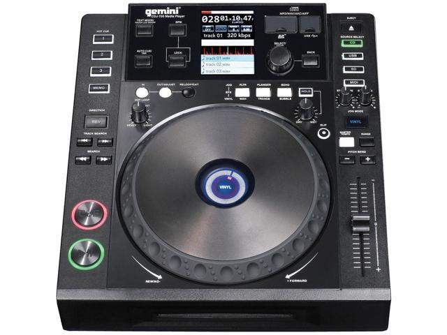 Gemini CDJ-700 Table Top Multi Media Player Table Top DJ Media Player