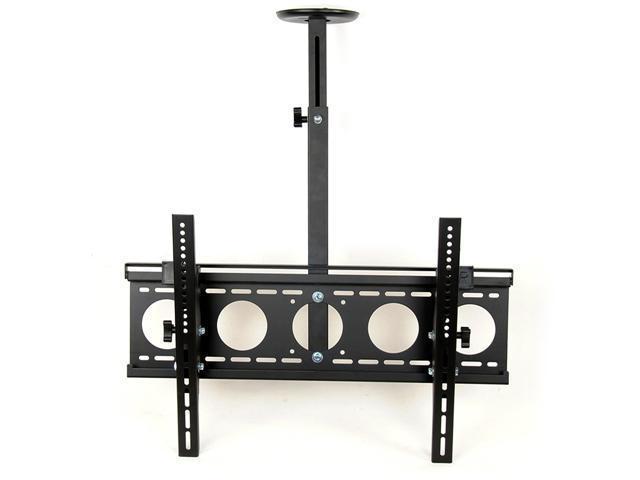 Homemounts HM001C New Black Angle Free Tilt Height Adjustable 36''-55'' LCD LED PDP Ceiling Mounts