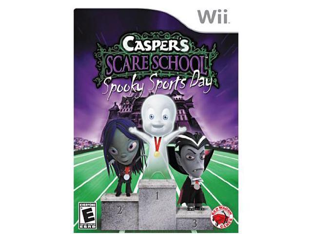 Casper's Scare School - Spooky Sports Day Nintendo WII New