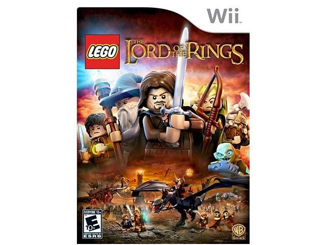 LEGO The Lord of the Rings Nintendo WII New