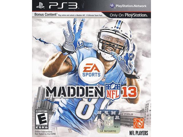 Madden NFL 13 Playstation3 New