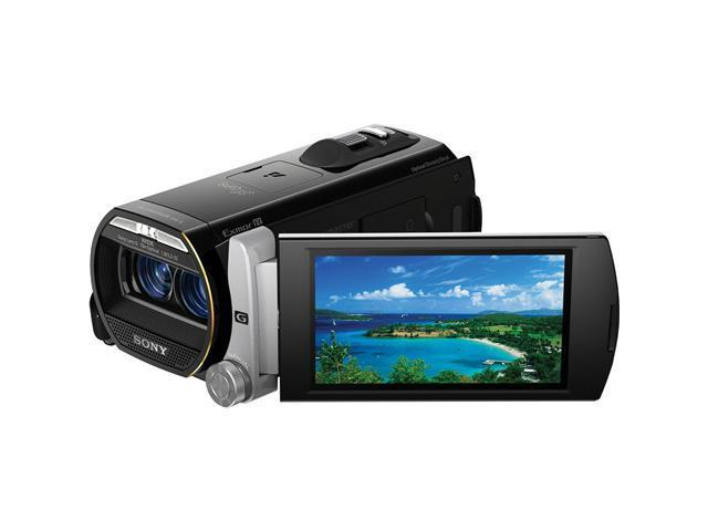 Sony HDR-TD20V High Definition Handycam 20.4 MP 3D Camcorder with 10x Optical Zoom and 64 GB Embedded Memory ( HDR-TD20V/S)