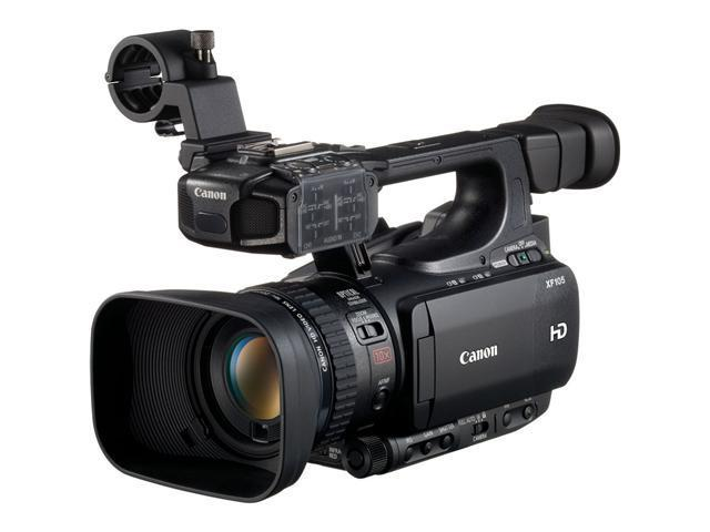 Canon XF-105 High Definition Professional Camcorder, XF Codec, CF Card Media, 10X HD Zoomlens, 1920 x 1080 CMOS Sensor (4885B001)