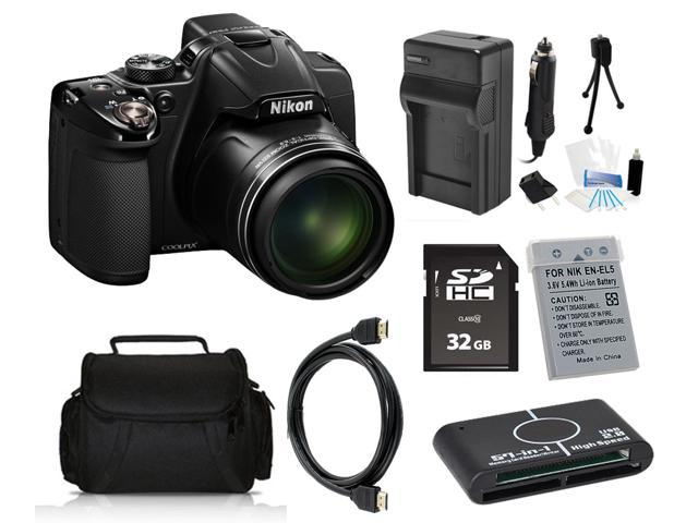 Nikon COOLPIX P530 16.1 MP Digital Camera with 32GB Pro Holiday Equipment Bundle
