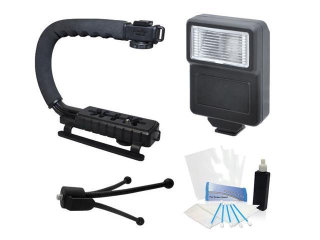 Camera Flash Grip Stabilizer Handle Accessories for Panasonic Lumix DMC-FZ70