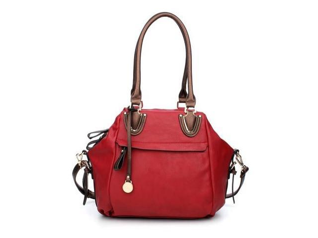 MLC Women Stylish Handbag Collection 'Aaliah' Satchel Bag in Brown Color in Brown Color