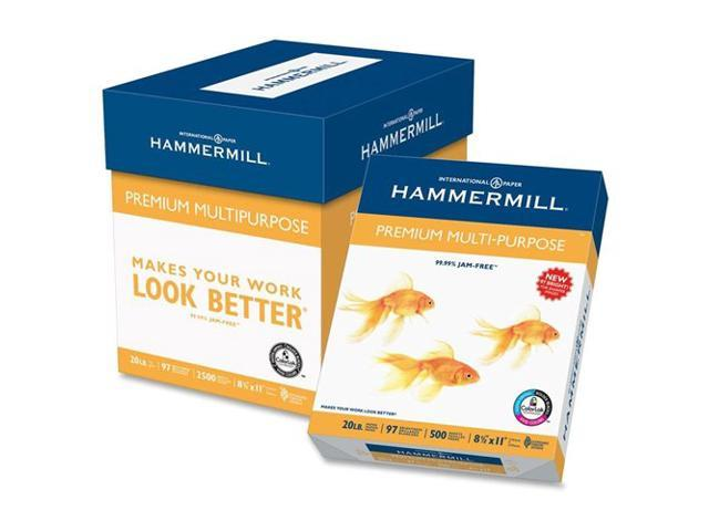 Premium Multipurpose Paper, 24-Lb., 8-1/2 X 11, White, 2500/Carton