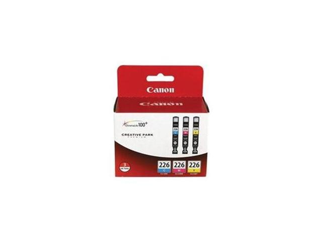 Canon CLI-226 Ink Tank Cartridges; 3-Pack, Tri-Color (4547B005)