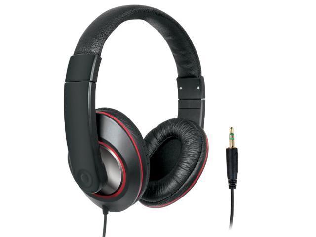 iSound Ultimate DJ Style Headphones - Black (DGHP-4006)