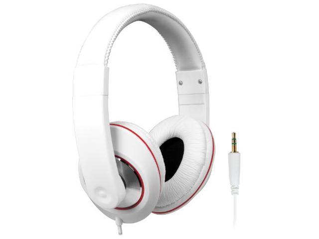 iSound Ultimate DJ Style Headphones - White (DGHP-4007)