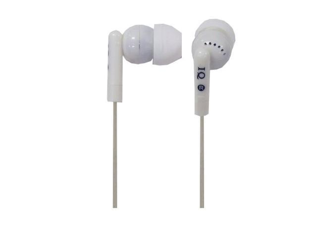 Supersonic IQ-106WH Iq106wht Digital Noise Reduction Stereo Earphones White