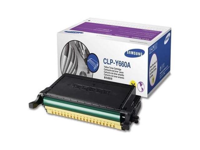 Samsung Yellow Toner Cartridge For Clx-6200fx Clx-6210fx Clx-6240fx Clp-610nd & Clp-6