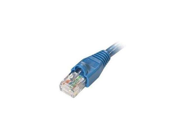 Steren 308-600BL Steren 100' blue molded cat5e utp patch cord