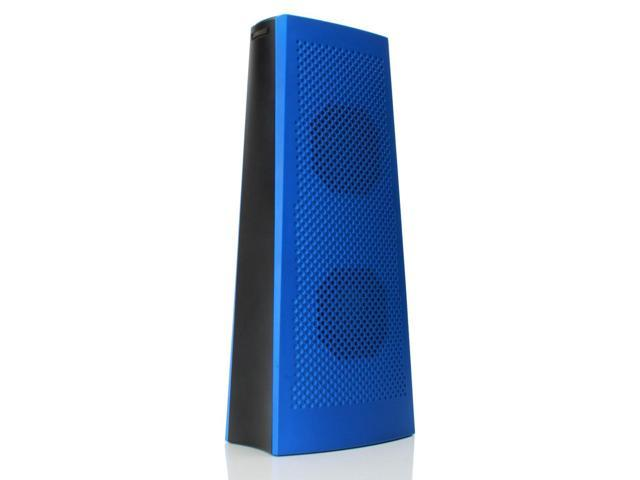 GOgroove BlueSYNC TWR Portable Wireless Bluetooth Tower Speaker w/ Rechargeable Battery and Stereo Drivers for Phones, Tablets, MP3 Players, & More