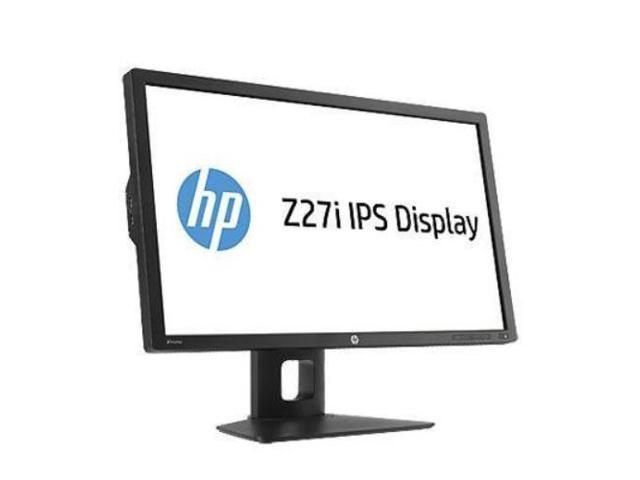 HP Smartbuy Z27i Black 27'' 8ms WQHD IPS Widescreen LED Backlight Professional Monitor 350 cd/m2 DCR 5million:1 (1000:1), height&Pivot adjustable