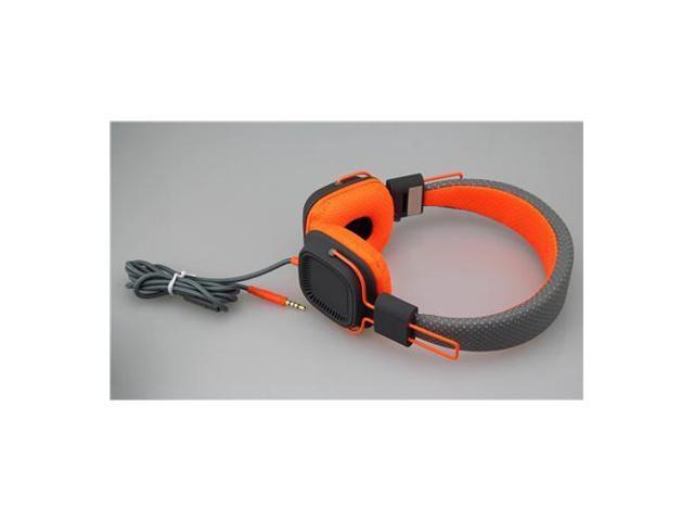 Deep Bass Headphones GRAY ORANGE