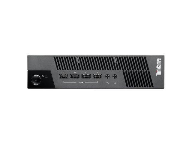 Lenovo ThinkCentre 10BV000EUS Ultra Small Thin Client - Intel Celeron 847 1.10 GHz - Business Black