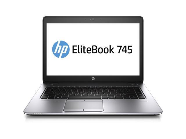 HP EliteBook 745 G1 (J8U65UT#ABA) Notebook AMD A-Series A8 Pro-7150B (1.90GHz) 4GB Memory 180GB SSD AMD Radeon R5 Series 14.0