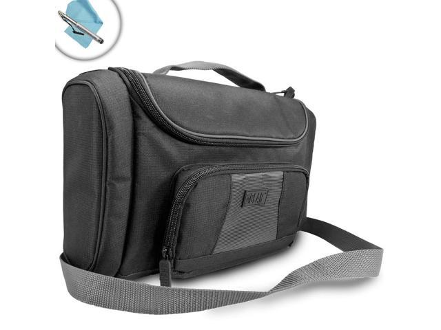 USA GEAR S7 Nvidia Shield Accessory Travel Bag and Organizer featuring Customizable Compartments , Neoprene Protection and Adjustable Shoulder Sling