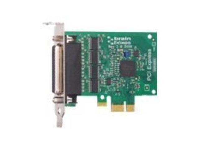 PX-260 4-port Multiport Serial Adapter PCI Express x1 - 4 x DB-9 Male RS-232 Serial Via Cable - Plug-in Card PX-260-001