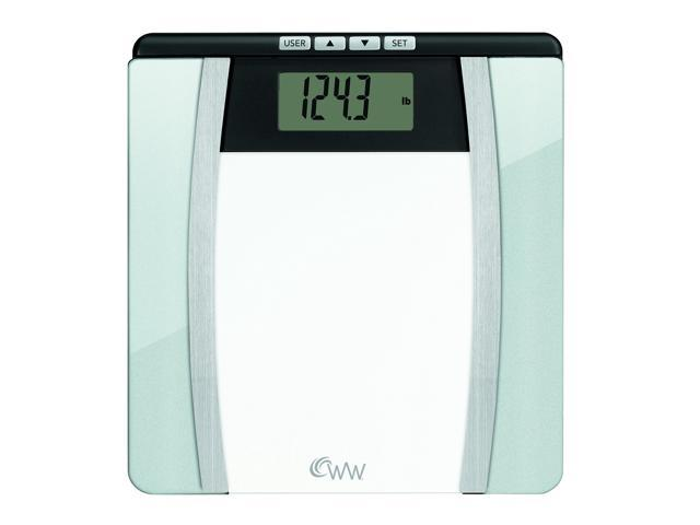CONAIR WW701 Weight Watchers Body Analysis Glass Scale