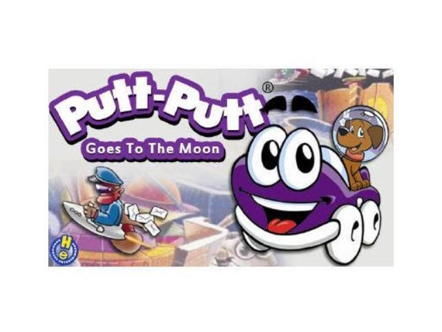 PUTT-PUTT GOES TO THE MOON IS AN ADVENTURE GAME DESIGNED ESPECIALLY FOR CHILDREN