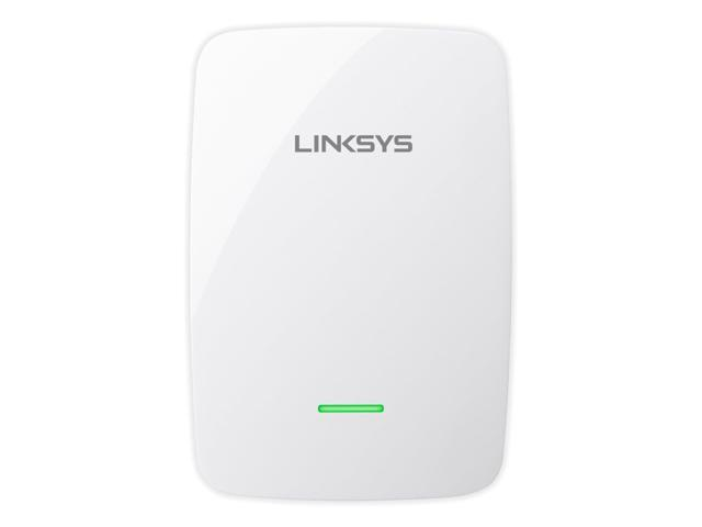 Linksys RE4100W-4A Wireless N600 Pro Wi-Fi Dual Band Range Extender with Built-In Audio Speaker