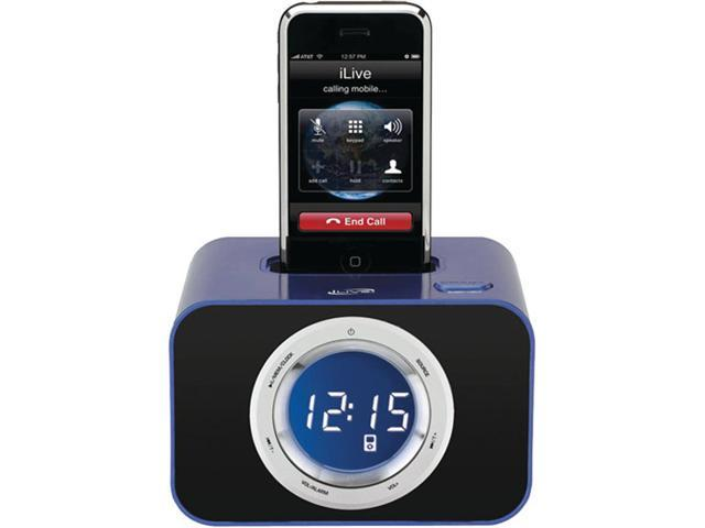 DPI iLive ICP211BU Clock Radio for iPhone/iPod