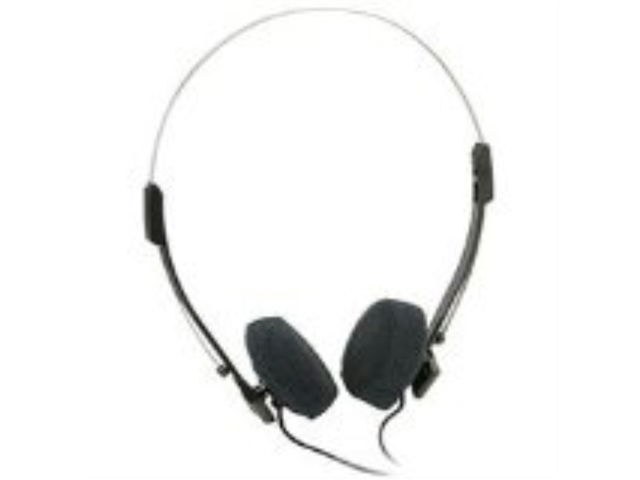 Mini Stereo Lightweight Headphones with 4 feet Cord