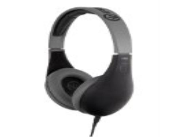 iFrogz IF-COD-BLK Coda Headphones with Mic, Black