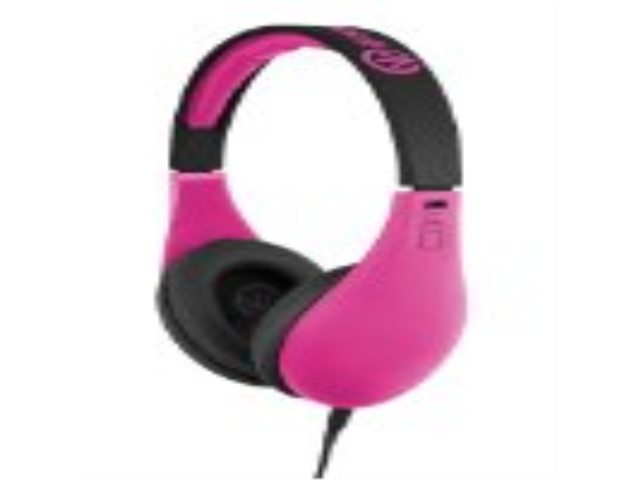 iFrogz IF-COD-PNK Coda Headphones with Mic, Pink