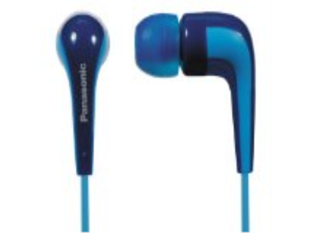 Panasonic RP-HJE140-A 3.5mm Connector Earbud Earphone