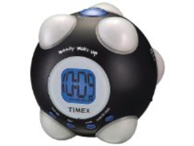 TIMEX T156BX Shake n Wake Alarm Clock (Black)