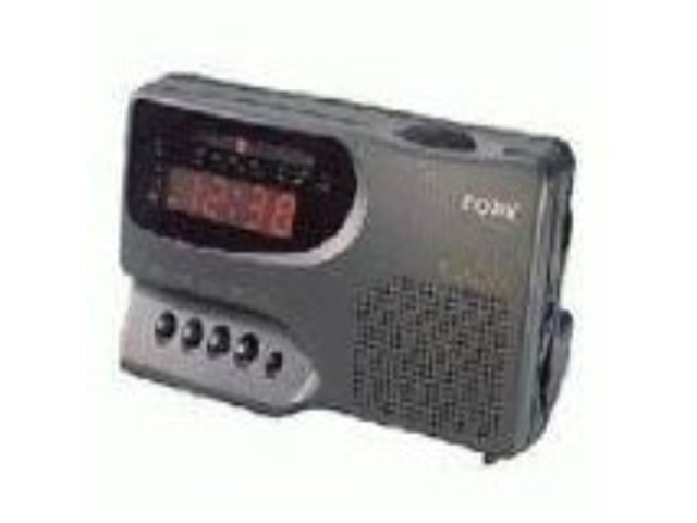 COBY CR-A57 Digital AM/FM Clock Radio with Large LED Display