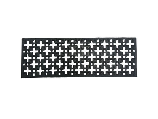 Stars Recycled Rubber Step Mat - 9.75