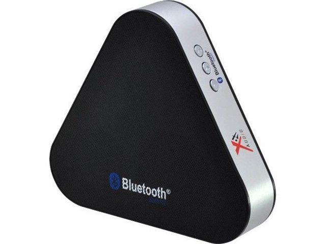 Xit Audio Triangular Bluetooth Rechargeable Portable Mini Audio Speaker - Black