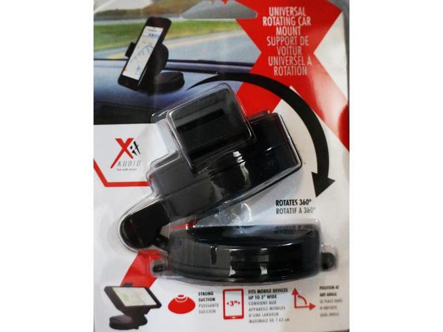 Xit Group Universal Rotating Car Dashboard Mount w/ 3